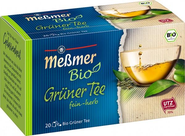 Meßmer BIO Grüner Tee 20 x 1,75g Tassenportion | CaterPoint.de