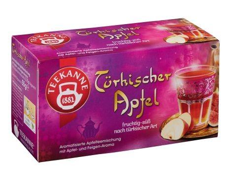 Teekanne Türkischer Apfel 20 x 2,75g Tassenportion | CaterPoint.de