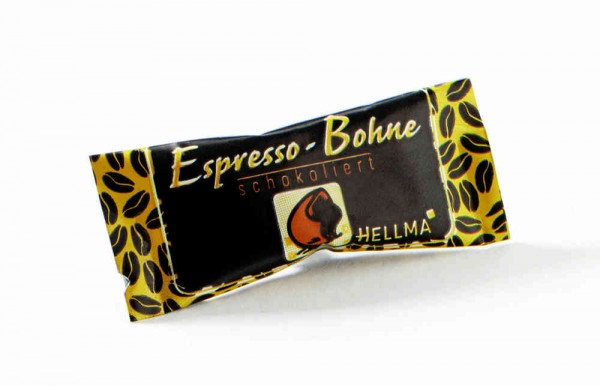 Hellma Espressobohne 380 x 1,1g - Zartbitter | CaterPoint.de