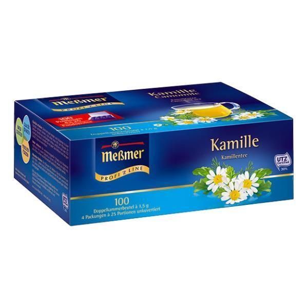 Meßmer ProfiLine Kamillen Tee 100 x 1,5g Tassenportion | CaterPoint.de