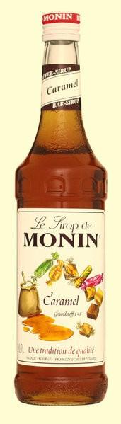 MONIN Sirup Caramel 0,7l Flasche