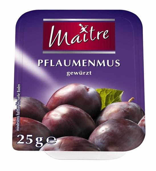 Maitre Pflaumenmus 100 x 25g