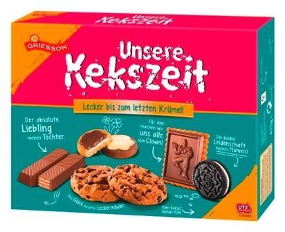 Griesson Unsere Kekszeit 415g | CaterPoint.de