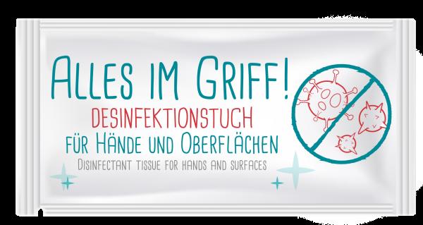 "Hellma Desinfektionstuch ""Alles im Griff"" 400 Stück | CaterPoint.de"