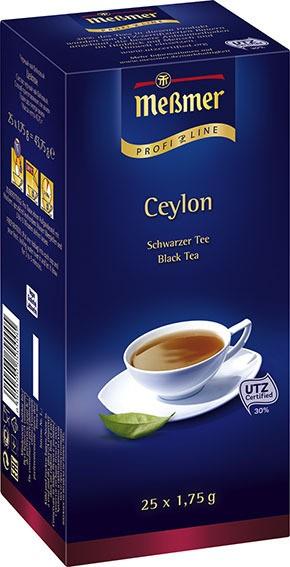 Meßmer ProfiLine Ceylon 25 x 1,75g