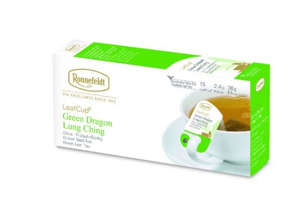 Ronnefeldt LeafCup® Green Dragon  Lung Ching 15 x 2,4g   CaterPoint.de