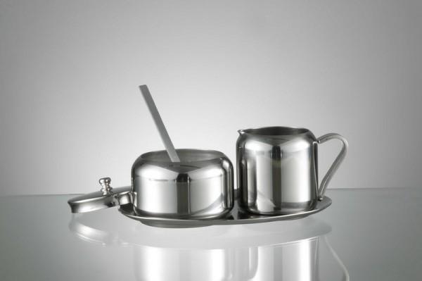 STOHA Milch & Zucker Set aus Edelstahl