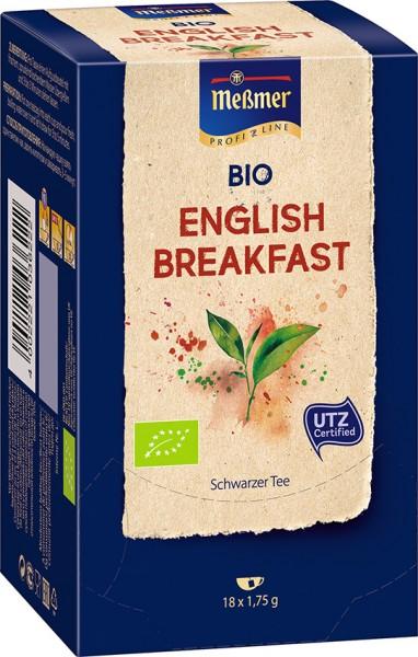 MEßMER ProfiLine Bio English Breakfast 18x1,75g  | CaterPoint.de