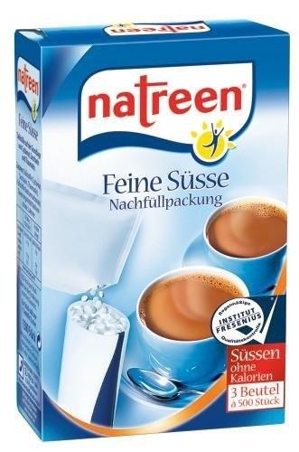 natreen® Feine Süsse 3 x 500 Stück Nachfüllpackung