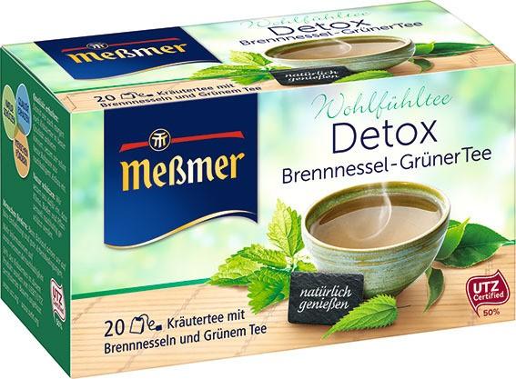 Messmer DETOX Brennessel - Grüner Tee 20 x 2,0g