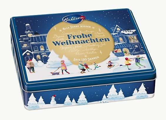 Bahlsen Weihnachtsdose 2019 -  300g | CaterPoint.de