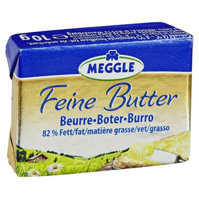 Meggle - Feine Butter 100 Portionen à 10g (gewickelt) | CaterPoint.de