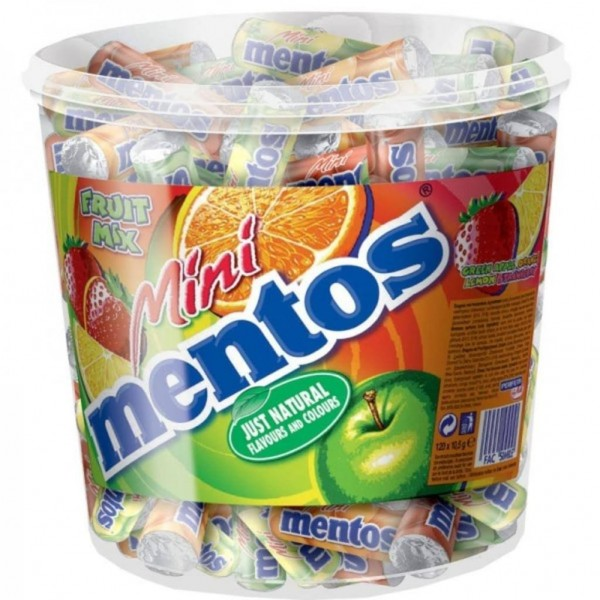 Mentos Mini Frucht 120er | CaterPoint.de