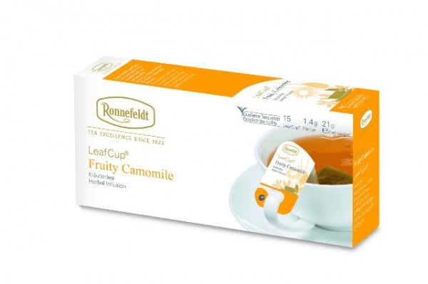 Ronnefeldt LeafCup® Fruity Camomile 15 x 1,4g   CaterPoint.de