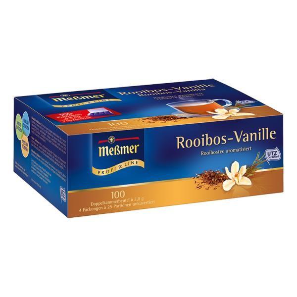 Meßmer ProfiLine Rooibos-Vanille 100 x 2,0g Tassenportion