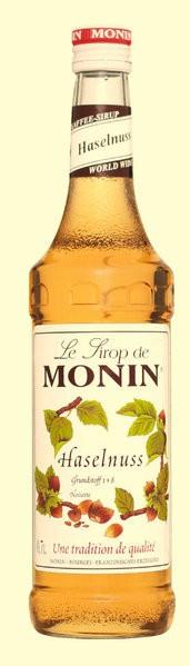 MONIN Sirup Haselnuss 0,7l Flasche