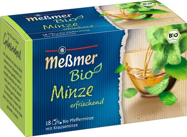 Meßmer BIO Minze 18 x 2,0g Tassenportion | CaterPoint.de