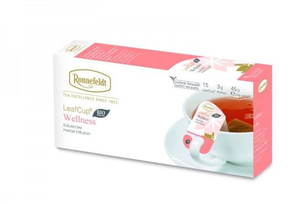 Ronnefeldt LeafCup® Wellness 15 x 3,0g   CaterPoint.de