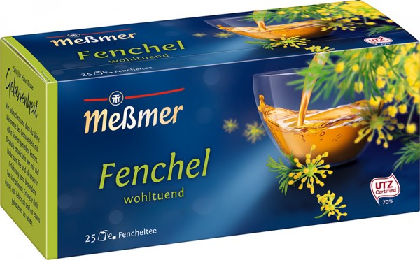 Meßmer Fenchel Tee 25 x 3,0g Tassenportion | CaterPoint.de
