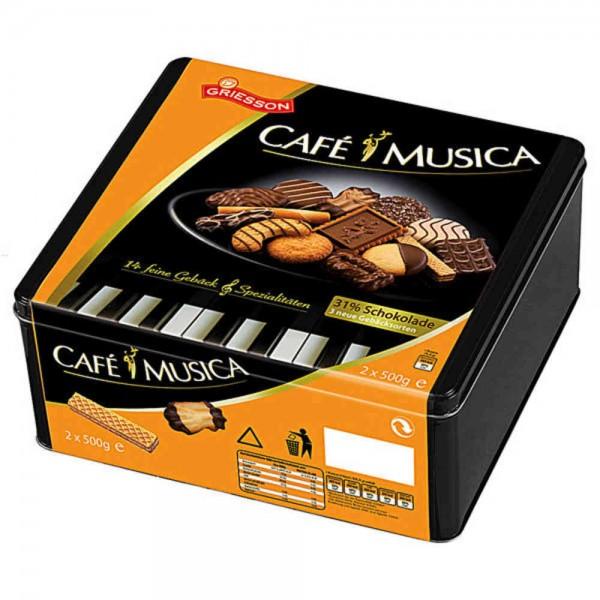 Griesson Cafe Musica Gebäckmischung 1000g Dose
