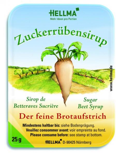 Hellma Zuckerrübensirup 100 x 25g Portionen | CaterPoint.de