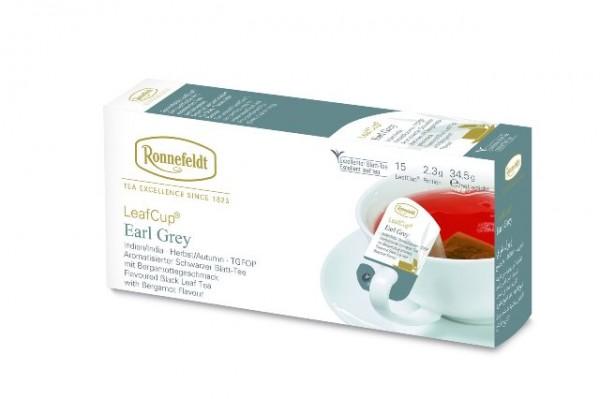 Ronnefeldt LeafCup® Earl Grey 15 x 2,3g   CaterPoint.de