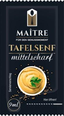 Maitre Tafelsenf Portionsbeutel 150 x 10g