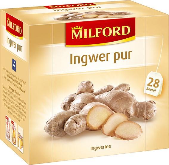 Milford Ingwer pur 6x28x2,0g Tassenportion