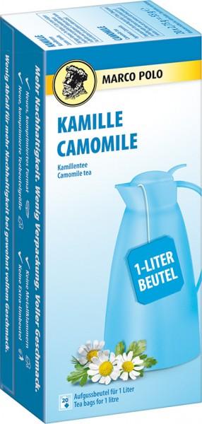 MARCO POLO Kamillentee 20x2,75g (1-Liter)