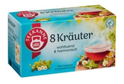 Teekanne 8 Kräuter 20 x 2,0g Tassenportion | CaterPoint.de
