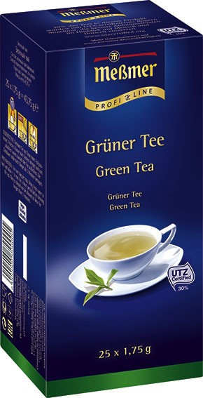 Meßmer ProfiLine Grüner Tee 25 x 1,75g | CaterPoint.de