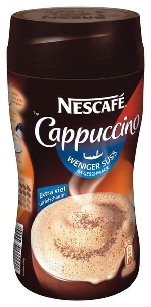 "Nescafe Cappucciono ""wenig Süße"" 250g Dose"