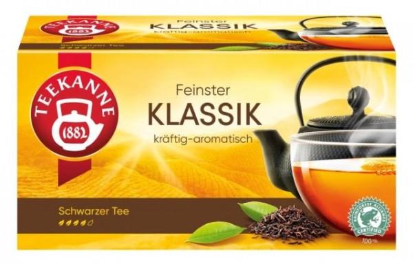 Teekanne Klassik 20 x 1,75g Tassenportion   CaterPoint.de
