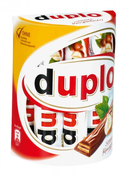 Ferrero Duplo Riegel 40 x 18,2g