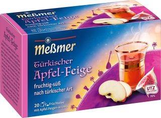 Meßmer Türkischer Apfel-Feige Tee 20 x 2,5g | CaterPoint.de